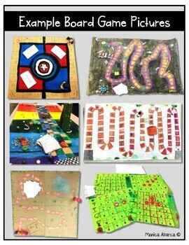 Create Your Own Math Board Game Project by Monica Abarca | TpT