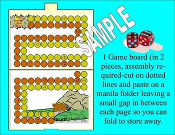Math Board Game For Kindergarten 1 & 2