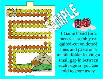 Math Board Game For Kindergarten 1 & 2