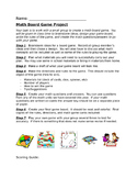 Math Board Game Project