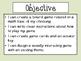 Math Board Game Project *Freebie*