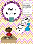 Math Board Game Set