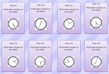 Games Galore! Fractions and Time