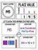 Math Boards {Place Value} Kindergarten and First Grade