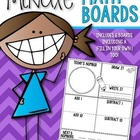 Math Boards {Today's Number} Kindergarten and First Grade