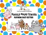 Math Boggle Center Featuring Crazy Critters