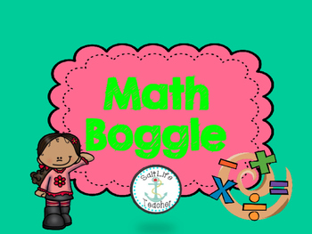 Math Boggle Differentiated