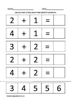 Math Book 2 (Autism, Special Needs, Early Years)