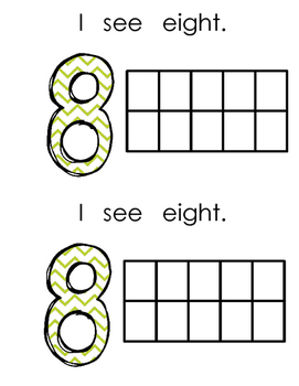 Math Book Numbers 5-10
