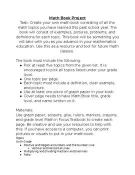 Math Book Project