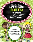 Math Book of Sorts Place Value FREEBIE! Test Prep!