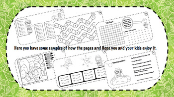 Math Booklet - Early Finishers