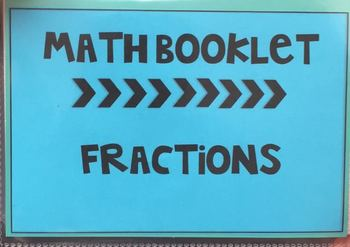Math Booklet - Fractions