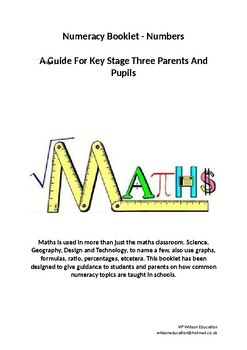Math Booklet - Numbers