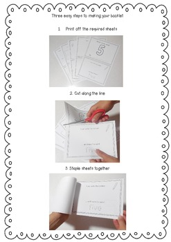 Math Booklet for the Number 5