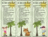 Math Bookmark for Student Share!