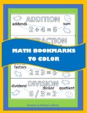 Math Bookmarks