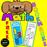 Math Bookmarks-FREE
