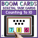 Math Boom Cards - Count To Ten
