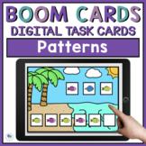 Summer Math Boom Cards - Math Patterns