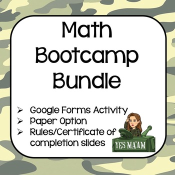 Math Boot Camp Bundle