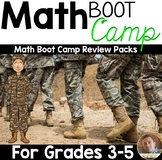 Math Boot Camp: Review Packs for 3rd-4th Grade Students