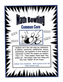 Math Bowling - Common Core