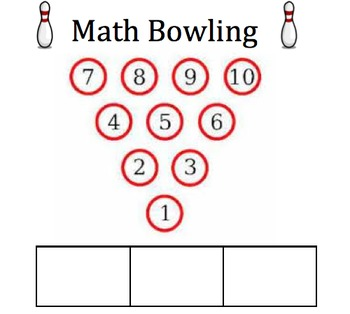 Math Bowling - Order of Operations Practice