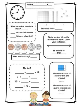Math Boxes