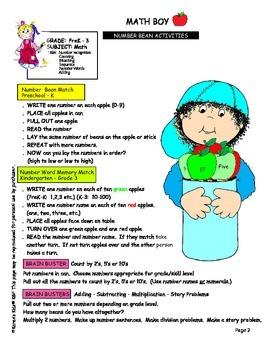 Math Boy Activities