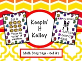 Math Brag Tags- Set 1