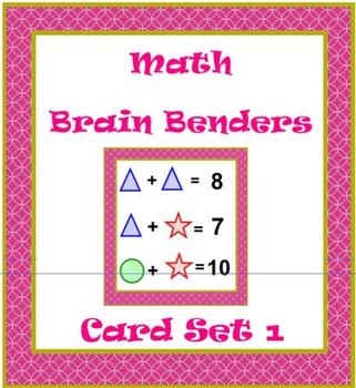 Math Brain Benders Card Set 1