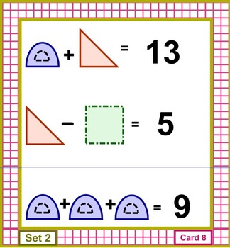 Math Brain Benders Card Set 2