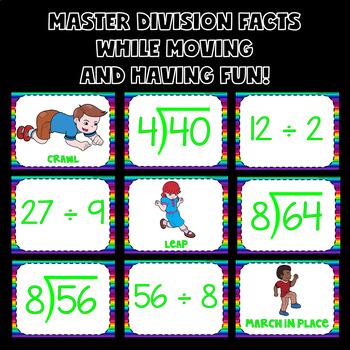 Division Activities (Division Math Brain Breaks)