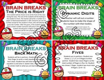 Math Brain Breaks