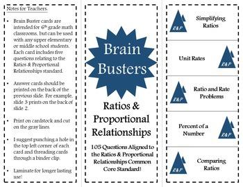 Math Brain Busters Bundle