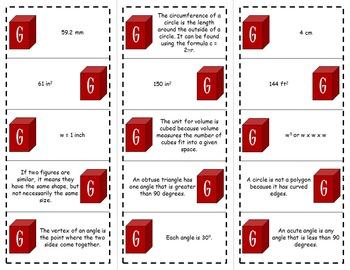 Math Brain Busters - Geometry