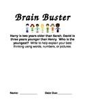 Math Brain Busters for Intermediate Grades