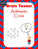 Math Brain Teaser: Arithmetic Circle