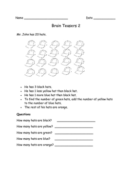 Math Brain Teasers