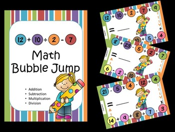 Math Bubble Jump & Equation Creation