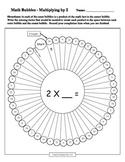 Math Bubbles - Multiplying