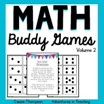 Math Buddy Games Volume 2