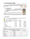 Math: Budgeting - Full Unit (Workplace Apprenticeship Math)