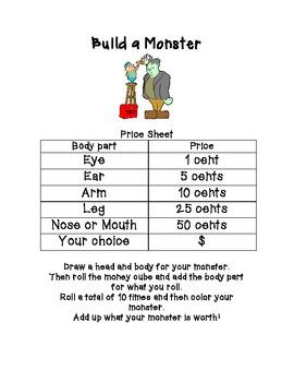 Math Build A Monster