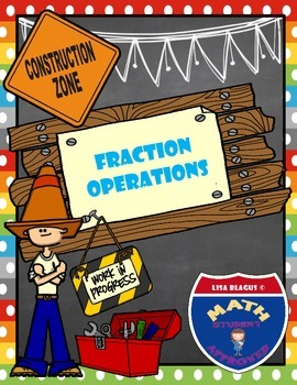Math Builders:  Fraction Operations