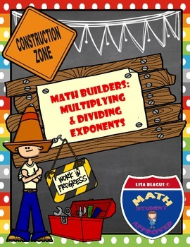 Math Builders:  Power of Exponents Practice