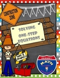 Math Builders: Solving One-Step Equation Practice