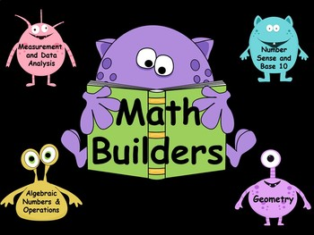 Math Builders Third and Fourth Nine Weeks - Smart Board edition