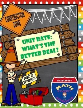 Math Builders:  Unit Rate Practice